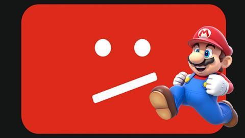 Nintendo prohíbe la retransmisión de sus juegos en YouTube