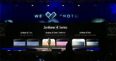 Presentación de los ZenFone 4