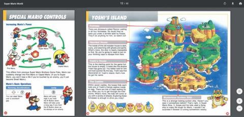 Descarga Los Miticos Manuales De Los Juegos De Snes Mini En Pdf