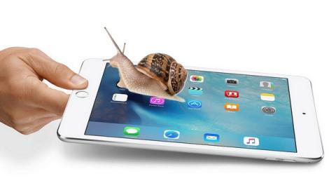 Cómo arreglar un iPad lento