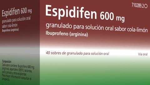 Espidifen 600 mg cola cola