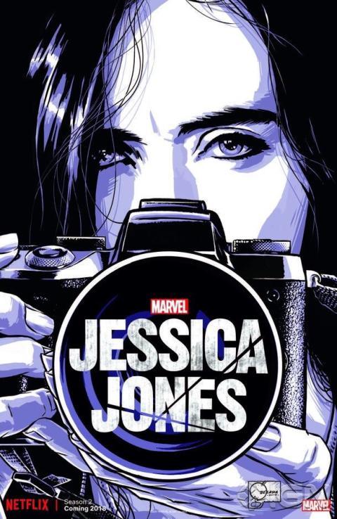 Cartel temporada 2 Jessica Jones