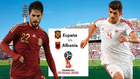 A qué hora y en qué canal ver en directo el España vs Albania de fútbol.