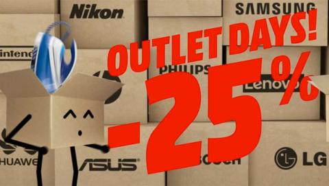 Outlet Days en MediaMarkt: ofertas en móviles, portátiles y TV
