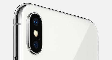 La cámara del iPhone X