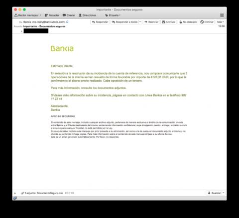 Phishing Bankia