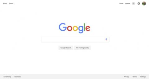 página principal google