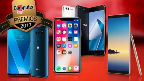 Finalistas a los Premios ComputerHoy como mejor smartphone de gama alta.