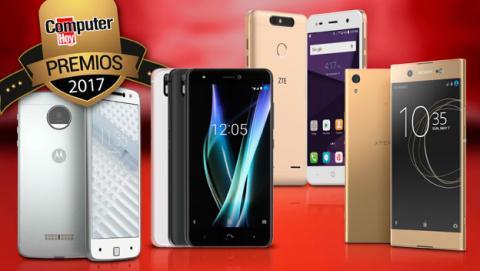 Finalistas a los Premios ComputerHoy como mejor smartphone de gama media.