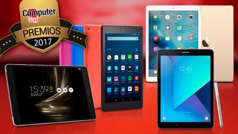 Finalistas a los Premios ComputerHoy como mejor tablet.