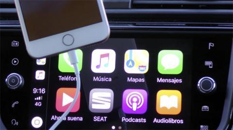 Así es el aspecto de Apple CarPlay en el navegador de este coche de Seat
