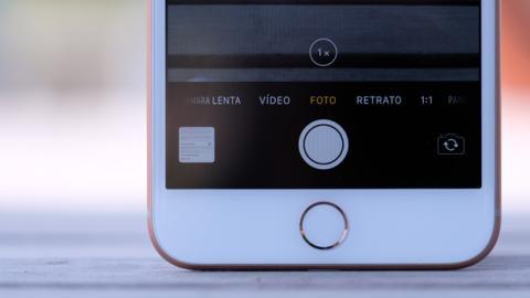 Así es la aplicación de Cámara del iPhone 8 Plus