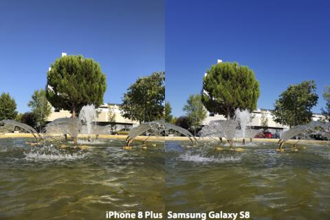 Cámara del iPhone 8 Plus vs Galaxy S8 (3)