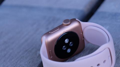 Detalle de la corona del nuevo Apple Watch 3