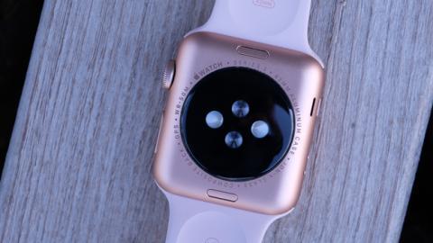 Y así es por detrás el Apple Watch Series 3
