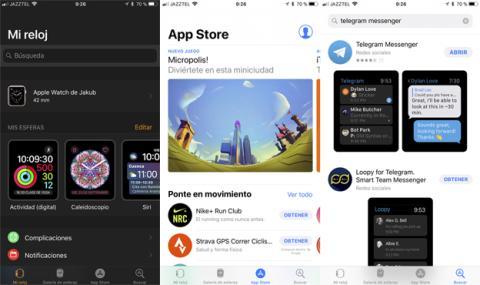 Así se instala una aplicación en el Apple Watch desde la App Store