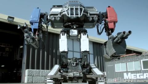 cómo ver batalla de robots Giant Robot Duel