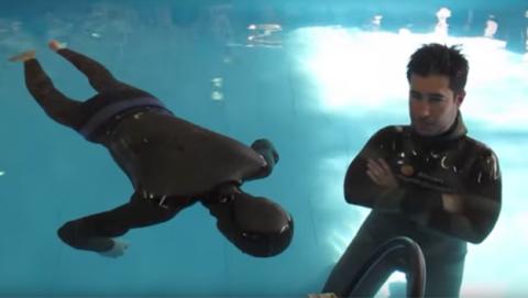 Aguantar más tiempo la respiración bajo el agua