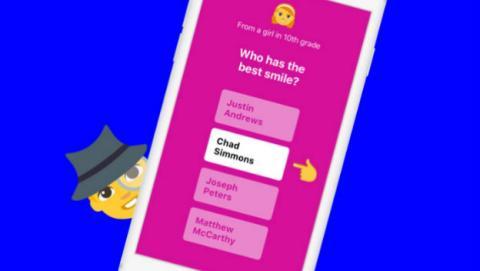 TBH, una aplicación de encuestas anónimas comprada por Facebook.