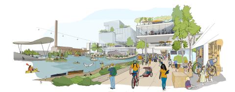 Sidewalk Toronto: así es el barrio futurista de Google, en imágenes