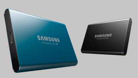Nuevo disco duro portátil Samsung SSD T5