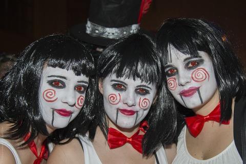 Ideas y disfraces caseros de ltima hora para Halloween 2017