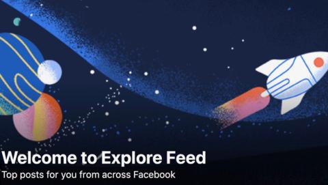 Explore Feed Facebook nueva función explorar contenidos