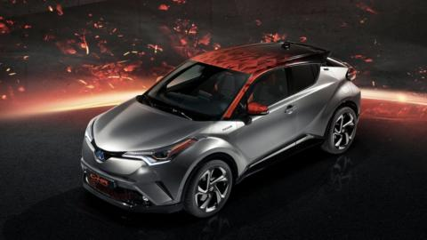 Toyota C-HR Hy-Power coche híbrido para 2018