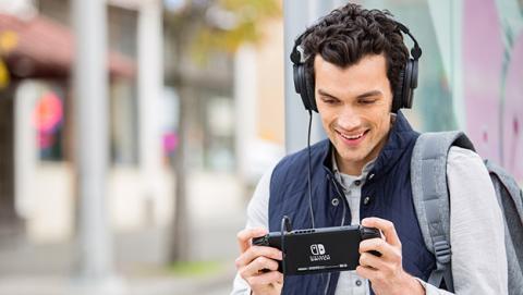 Nintendo Switch permite conectar auriculares USB inalámbricos
