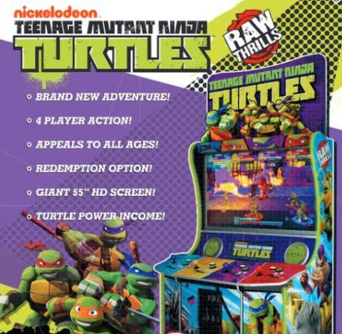 recreativa de las tortugas ninja
