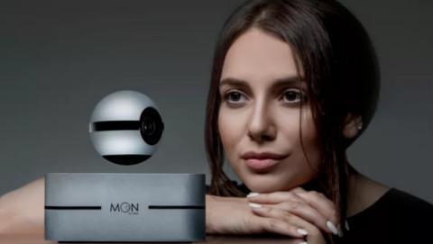 Moon, la cámara que levita en el aire y vigila tu casa