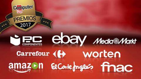 Candidatos a los Premios ComputerHoy en la categoría de mejor plataforma de eCommerce.