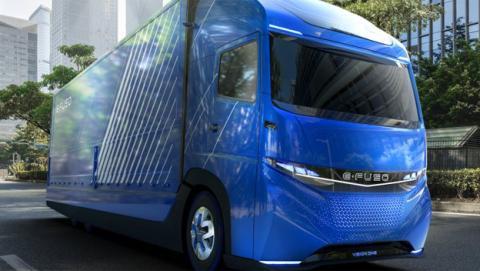 Así es el camión eléctrico de Daimler