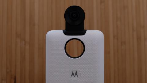 El Moto Mod de cámara 360