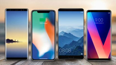 Estos son los smartphones de gama alta más potentes de 2017.
