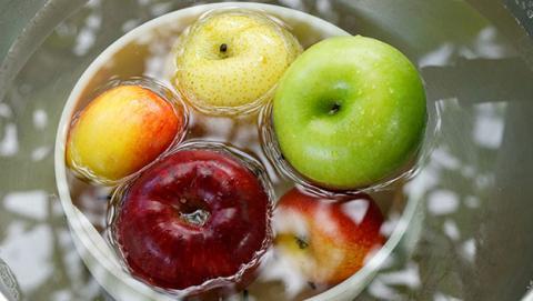 lavar manzana