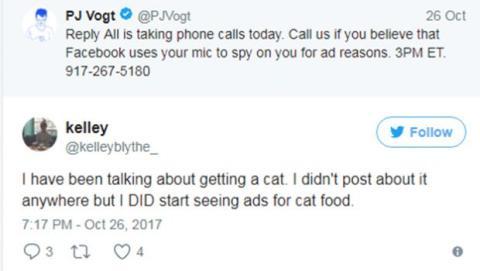 facebook espía usuarios