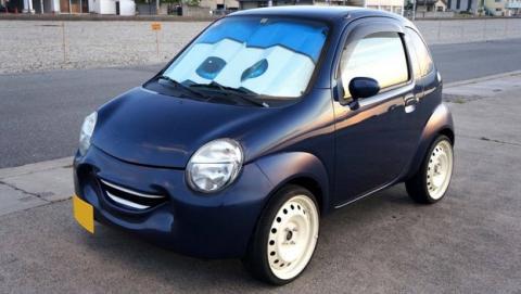 En Japón venden coches que sonríen como los de Cars
