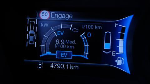 Una de las pantallas digitales del Ford Mondeo
