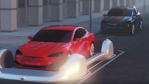 Elon Musk primera imagen primer túnel subterráneo Los Ángeles