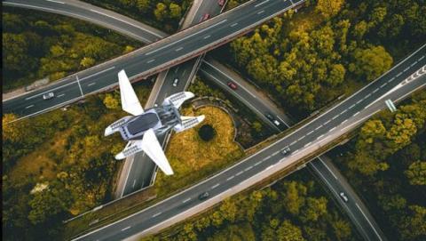 Hoversurf coche volador