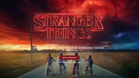 Stranger Things en Spotify, un nuevo truco para saber qué personaje eres.