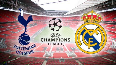 Cómo ver por Internet en streaming el Tottenham Real Madrid de Champions.