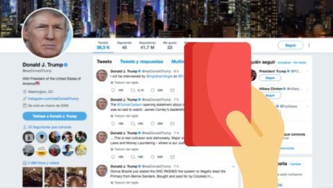 Un empleado de Twitter cierra la cuenta de Trump antes de dejar la empresa    Tecnología - ComputerHoy.com