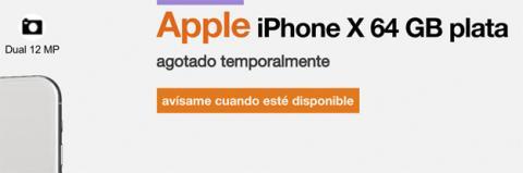 """Todas las operadoras han colgado el cartel de """"Agotado"""" en el iPhone X en España"""