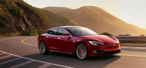 El Model S fue el segundo coche eléctrico de Tesla, y llegó en el año 2008