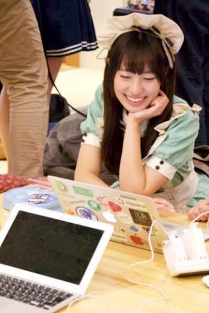 En Japón enseñan programación con chicas vestidas de doncella