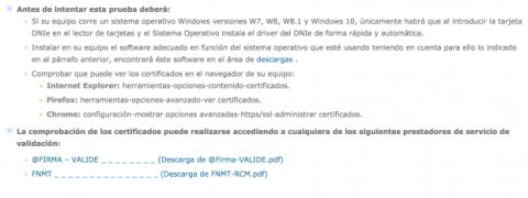 verificar certificados DNI-e
