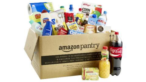 Amazon regala 10€ de descuento para comprar en Pantry.