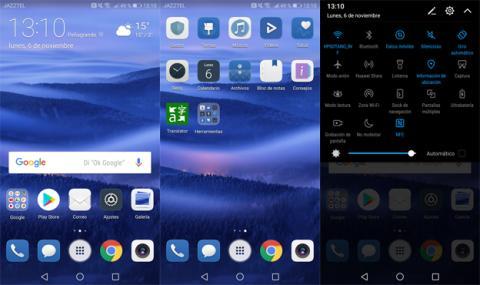 Así es la interfaz del Huawei Mate 10